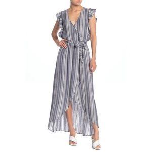 SPLENDID striped maxi dress✨M